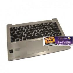 """מקלדת וחיפוי פלסטיק למחשב נייד פוגיטסו Fujitsu LifeBook 14 """"U904 Palm Rest Keyboard TouchPad - 1 -"""