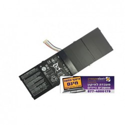 סוללה מקורית אייסר 4 תאים - Acer Aspire AP13B8K Laptop Battery - Aspire M3 M5 V5 V7 R7 Battery - 1 -