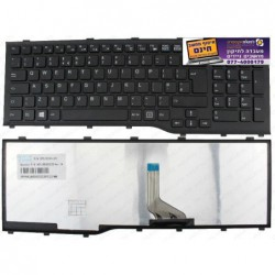 מקלדת למחשב נייד פוגיטסו FUJITSU AH532 A532 N532 NH532 KEYBOARD UK LAYOUT WITH FRAME CP575204-001 F226 - 1 -