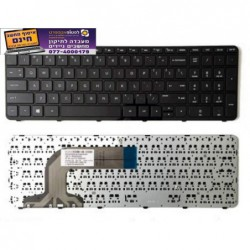 מקלדת למחשב נייד HP Pavilion 17E 17-E000 17-E 17-Exxx 720670-001 US Keyboard With Frame - 1 -