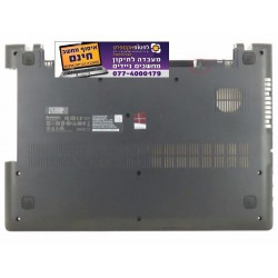 תושבת תחתית למחשב לנובו Lenovo IdeaPad 100-15IBD 80QQ Laptop Bottom Case AP10E000700 - 1 -