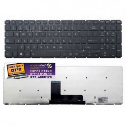 מקלדת למחשב טושיבה Toshiba Satellite L50-C L50D-C L50T-C Keyboard US black - 1 -