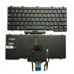 מקלדת להחלפה במחשב נייד דל  Dell E5470 E7470 Laptop Keyboard - 2 -