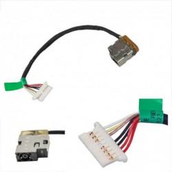 שקע טעינה HP 240 246 250 255 G4 G5 799736-S57 F57 Y57 DC Power Jack Cable - 1 -