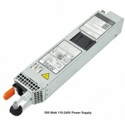 ספק כוח לשרת DELL 0RYMG6 550 WATT COMPATIBILITY:  POWEREDGE R420 R620 R720 R720XD - 1 -