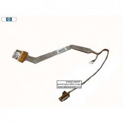 """כבל מסך דגם 2 HP Compaq 2510p LCD Cable (12"""") DD0OT2LC000 , 451741-001 - 1 -"""