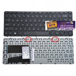 מקלדת למחשב נייד HP Pavilion 240 G3 | 14D 14-D 14-D000 14G 14-G 14-G000 Series Keyboard English with Frame - 1 -