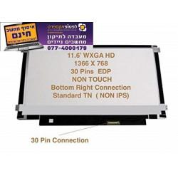 מסך להחלפה במחשב נייד אייסר Acer Aspire V5-132 V5-132P Led Lcd Screen 11.6 N116BGE-EA2 - 1 -