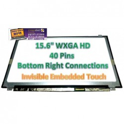 מסך מגע להחלפה במחשב נייד HD LCD LED Touch Screen Display New N156BGN-E43 REV.B1 - 1 -