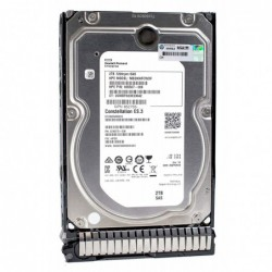 דיסק קשיח לשרת HP ProLiant ML350 ML110 Gen10 - 2Tb SAS 6G 7.2K LFF DP MDL HDD - 1 -