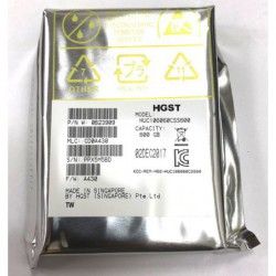 "דיסק קשיח לשרת HGST Ultrastar 10K 600GB Internal 10000RPM 2.5"" (0B23909) HDD - 1 -"