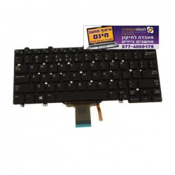 מקלדת להחלפה במחשב נייד Dell Latitude E7270 / E5270 / 7275 / XPS 12 (9250) Laptop Keyboard with Backlighting - 1 -