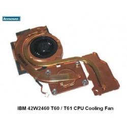 מאוורר למחשב נייד י.ב.מ לנובו כולל גוף קרור Lenovo IBM 42W2460 T60 / T61 CPU Cooling Fan - 1 -