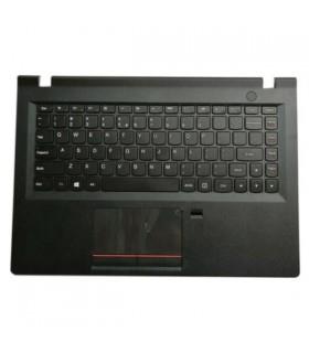 תושבת עליונה למחשב לנובו כולל משטח עכבר ומקלדת   Lenovo E31-80 Palmrest Upper Case Touchpad FPR US Keyboard Bezel 5CB0K57257