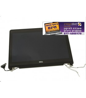 "קיט מסך קומפלט להחלפה במחשב דל Dell  Latitude E7270 FHD 12.5"" Touchscreen LCD Screen Display Complete Assembly - H2RG7"