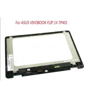 החלפת מסך מגע למחשב אסוס Asus TP401M screen with touch with frame 1366X768