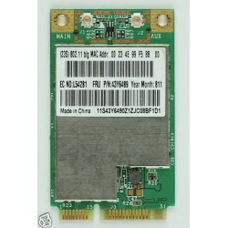 Lenovo 3000 N500 43Y6489 802.11g Wireless  כ.רשת - 1 -