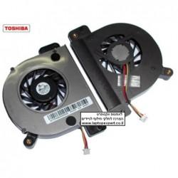 מאוורר למחשב נייד טושיבה  Toshiba Satellite A110 Cpu Fan AB0705HX-EB3 (X1A) - 1 -