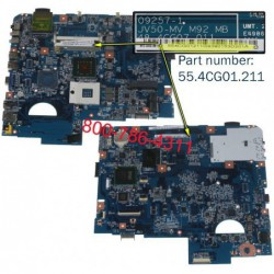 לוח אם למחשב נייד אייסר Acer Aspire 5738z laptop motherboard 55.4CG01.211 - 1 -
