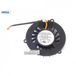 מאוורר למחשב נייד Msi VR600 VX600 DFB450805M10T / DFS551305MC0T CPU Fan - 1 -