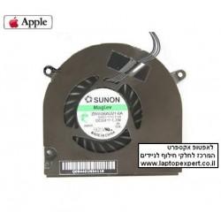 מאוורר למחשב נייד אפל מקבוק Apple Mabbook Pro MB466 CPU Fan ZB0506AUV1-6A , A1278 - 1 -