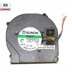 מאוורר למחשב נייד HP Compaq 2710p 2730p Cpu Cooling Fan 501495-001 - 1 -
