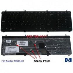 החלפת מקלדת למחשב נייד HP Pavilion DV7-2000 DV7-3000 Laptop Keyboard 519004-001 , 519004-BB1 - 1 -