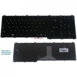 מקלדת למחשב נייד טושיבה Toshiba Qosmio G50 G55 Keyboard 9J.N9282.801 , NSK-TB801 - 1 -
