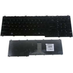 מקלדת למחשב נייד טושיבה Toshiba Satellite A500 F501 P305 P505 Laptop Keyboard 9J.N9282.W01, 9Z.N1Z82.A01, 6037B0038802 - 1 -