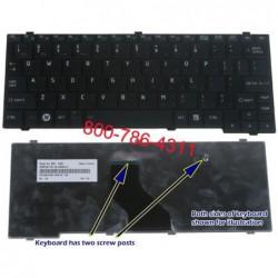 מקלדת למחשב טושיבה נטבוק Toshiba Netbook Mini T110 NB205 Keyboard NSK-TK001 , 9Z.N3D82.001 , PK130801A00 , PK13080A00 - 1 -