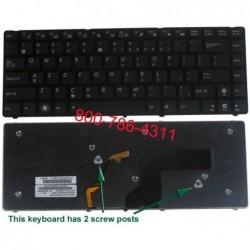 מקלדת למחשב נייד אסוס מוארת Asus U50 U80 U80A , U80V Backlit Keyboard - 04GNUS1KUS00-3 - 1 -