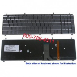 החלפת מקלדת למחשב נייד HP Pavilion HP HDX 16 16T HDX16 X16 X16T Laptop Keyboard NSK-HA101, AEUT6U00030 , 9J.N0Y82.101 - 1 -