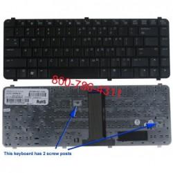 החלפת מקלדת למחשב נייד קןמפאק Compaq Laptop 511 , 610 keyboard 537583-BB1 537583-001 - 1 -