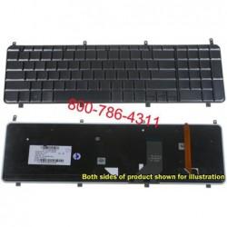 החלפת מקלדת למחשב נייד HP Pavilion HDX X18 X18T HDX18 backlit Keyboard AEUT7U00020 - 1 -