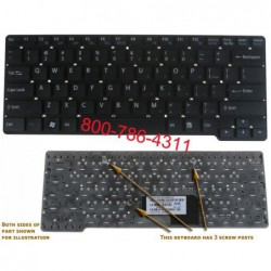 מקלדת למחשב נייד סוני Sony VGN-CW Laptop Keyboard 148755521 / 9J.N0Q82.B01 / NSK-S7A01 - 1 -